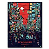 yhnjikl Poster Und Drucke Blade Runner Harrison Ford Kunst