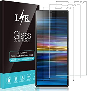 776ce8be796 L K 3-Unidades Protector de Pantalla para Sony Xperia 10 / XA3, Cristal  Vidrio