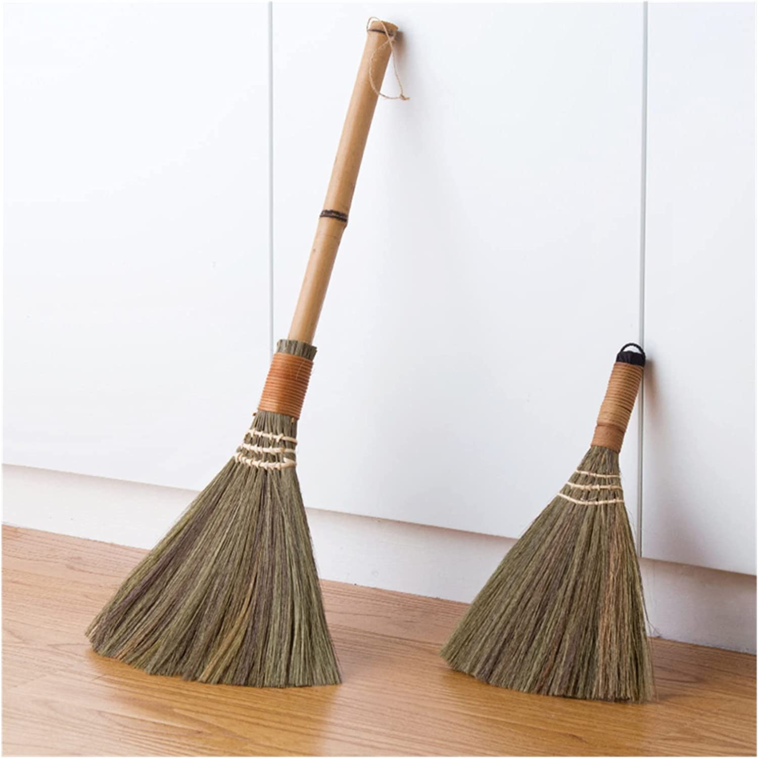 JUSTYUSHU Broom Wooden supreme FloorSoft Fur Sweeping F Now free shipping Home