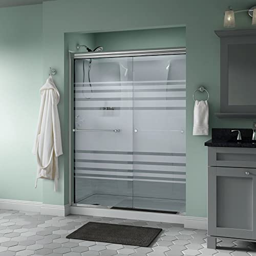 Frosted Glass Shower Doors Amazon Com