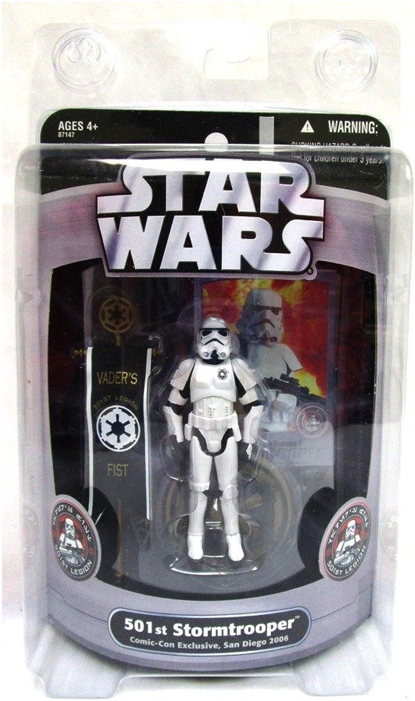 Star Wars 2006 SDCC Exclusive 501st Stormtrooper B000HLXWY8 Schönes Aussehen   | Authentisch