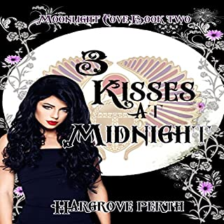 3 Kisses at Midnight audiobook cover art