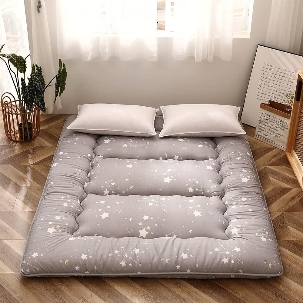 Grey Constellation Japanese Floor Tatami Max 71% OFF Inexpensive M Mattress Futon