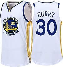 Camiseta De NBA Fan Jersey Camiseta De Baloncesto Hombres Bordados Golden State Warriors Kevin Durant Stephen Curry Traje De Competici/ón Ropa Deportiva De Secado R/ápido