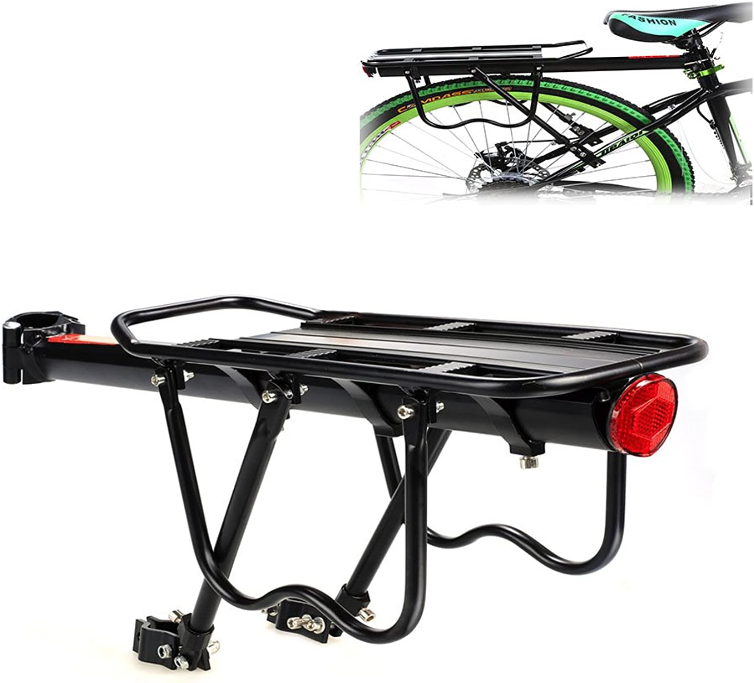 Bike Cargo Racks Stands Universal Touring Adjustable Rear Mount Clamp Bicycle Accessories