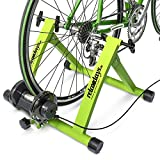 Relaxdays Indoor Bicycle Resistance Trainer, 6 Gears, for 26-28' Wheels Indoor Cycling Stand, Cardio Workout,...