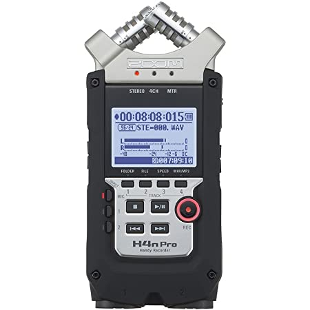 ZOOM ズーム 音楽制作 映像作品 ポッドキャスティング リニアPCM/ICハンディレコーダー 高音質 4トラック H4nPro