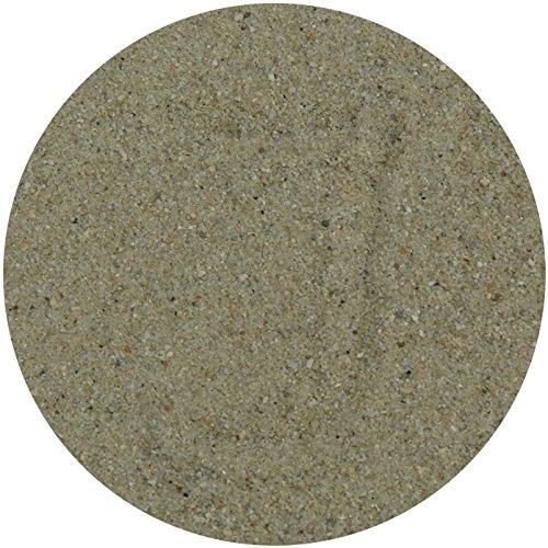 Ingbertson 1kg Dekosand Seashell Bastelsand Streuartikel 0,0-1,0mm Körnung im Beutel