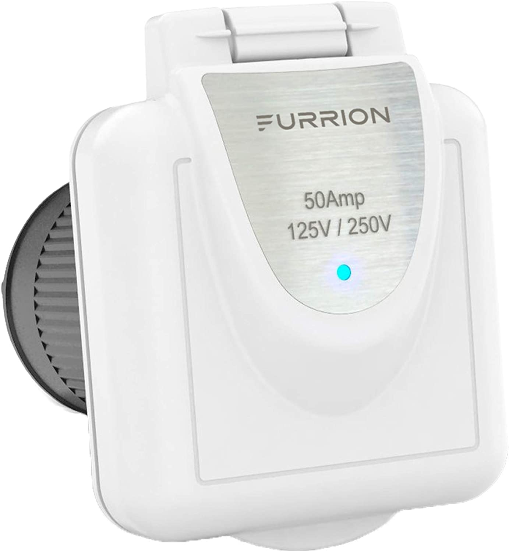 Furrion Electrical Evolution Plug 50 AMP 125V Connector Unicersal F50FMP-SS