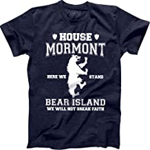 House Mormont Here We Stand Bear Island We Will Not Break Faith T-Shirt Game of Thrones