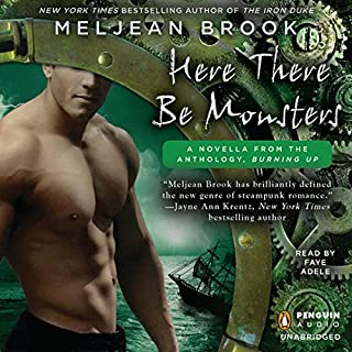 Here There Be Monsters audiobook cover art