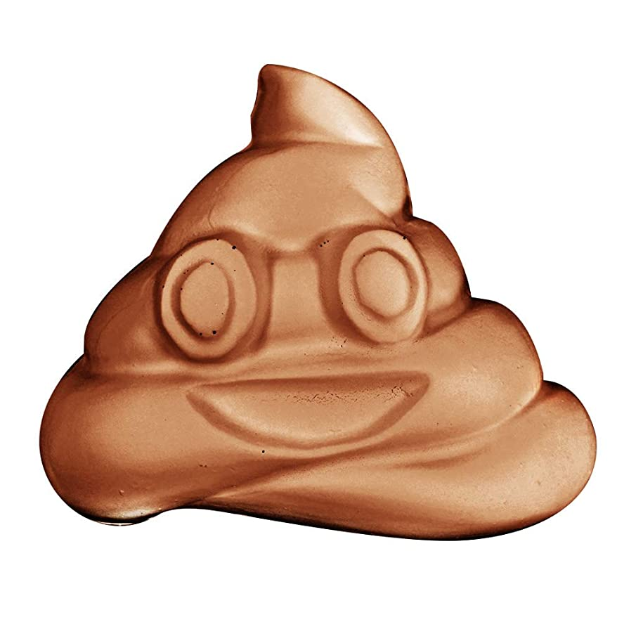 Milky Way Poop Emoji Soap Mold Tray - Melt and Pour - Cold Process - Clear PVC - Not Silicone - MW 524