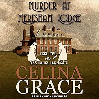 Murder at Merisham Lodge audiobook cover art
