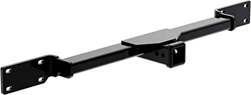 """Reese Towpower (65063) 2"""" Front Mounted Hitch Receiver, Black"""