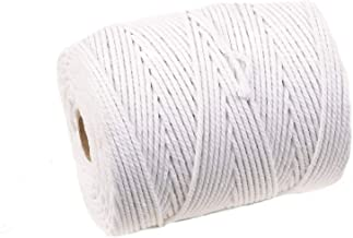 H3176 3.0mm 5 METRES WHITE ROUND PLASTIC PIPING CORD * 5 WIDTHS * BONING UPHOLSTERY TRIMMING