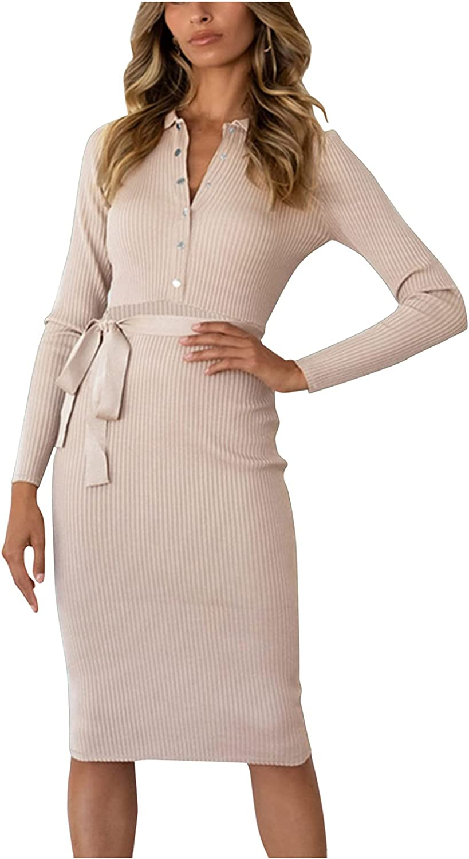 Smooto Women Maxi Dress Long Sleeve Holiday Leopard Print Summer Boho Dress