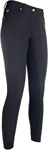 HKM Pantalon -LG Basic- Fond 1 1 Alos 46, 9100 Noir
