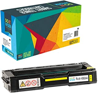 Do it Wiser Compatible Toner Cartridge Replacement for Ricoh Aficio SP C240SF C220S C220A C220DN C220N C221N C221SF C222DN C222SF | 406044 (Yellow - 2,000 Pages)