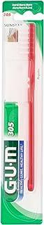 Sunstar G.U.M. 305 - Regular brush with hard bristles, assorted colors