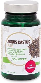 Agnus Castus Plus estandarizado al 0,5% de vitexina-60 cápsulas vegetales  1 cápsula al día  Duración: 2 meses