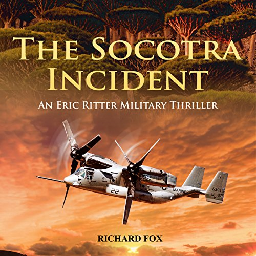 The Socotra Incident audiobook cover art