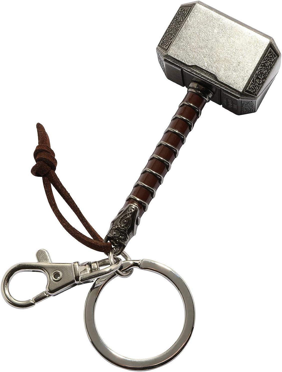 Thor Ragnarok Movie: Thor Hammer Pewter Keyring