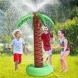 61' Aufblasbare Palme Yard Sprinkler Spielzeug, Spray Kinderwasserspielzeug, Kind-Sommer-Spiele Beach Im Freien Garten-Rasen-Sprenger-Pad