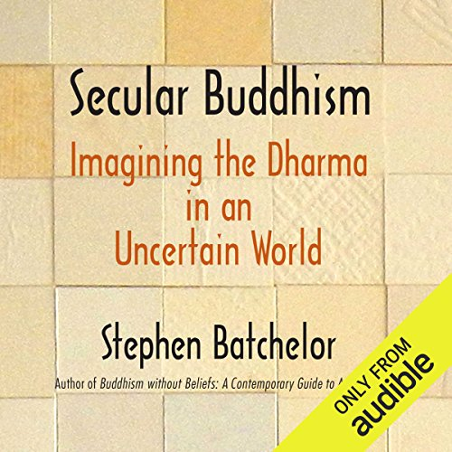 Secular Buddhism audiobook cover art
