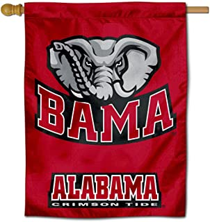 College Flags & Banners Co. University of Alabama Crimson Tide House Flag