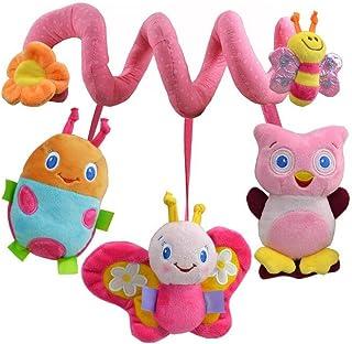 SHMGG Juego de Cama de Juguete Musical para bebé, Diseño de Animales, Color Rosa