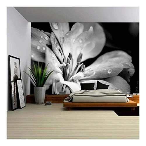 3D Flower Butterfly  Self-adhesive Removable Wallpaper Wall Mural Sticker 036
