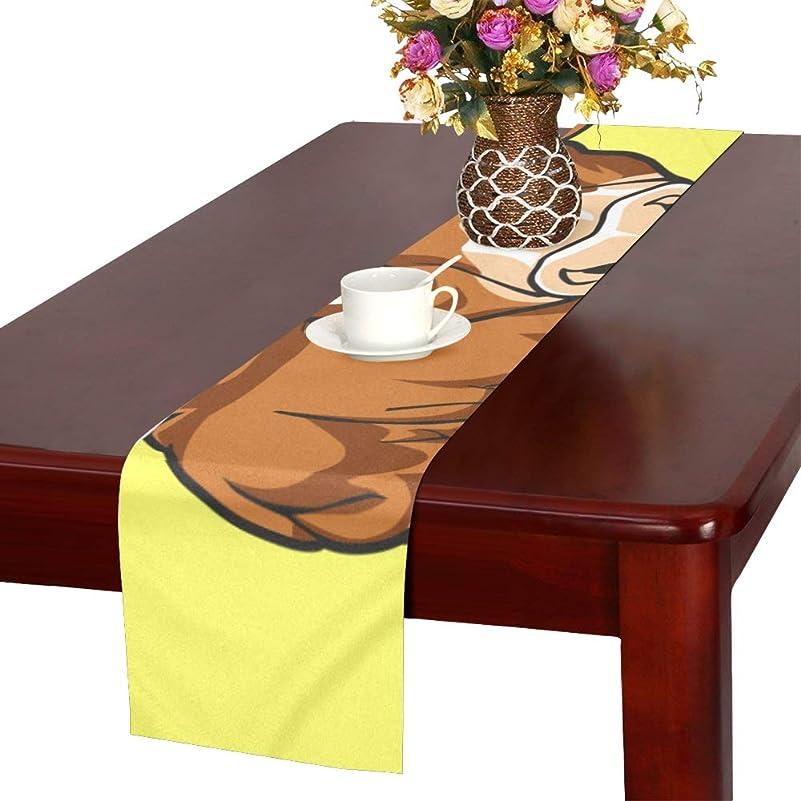 小競り合い探偵特許GGSXD テーブルランナー 面白い 牛 クロス 食卓カバー 麻綿製 欧米 おしゃれ 16 Inch X 72 Inch (40cm X 182cm) キッチン ダイニング ホーム デコレーション モダン リビング 洗える