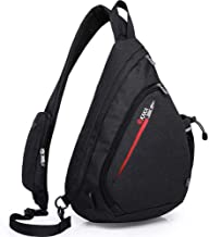 Sling Bag,Rope Shoulder Bag Crossbody Backpack Waterproof Travel for Men Women