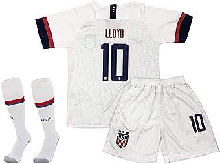 Musu USA Team Soccer Women Fans 10-Home T-Shirt & Shorts...