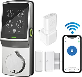 Lockly Secure Pro   Bluetooth Fingerprint WiFi Keyless Entry Smart Door Lock (PGD 728W) Patented...