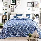 Sancarlos Bouti Tagesdecke CAMA DE 135, 235X270 cm blau