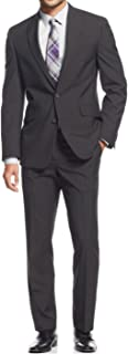 Mens Classic Fit Single Breasted 2 Piece Suit