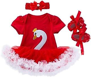 3477868d20ae1 Nouveau-né Enfants Bébés Filles Tutu Robe à Pois de Noël avec Minnie  Beandeau Costume