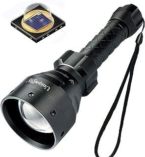 UniqueFire T67 IR Hunting Flashlight, UF-1405 Upgraded 5 Watt SFH 4715AS 850nm LED Infrared Light Night Vision Torch 丨IR Illuminator for Night Vision Device Camera Monitor Fill Light