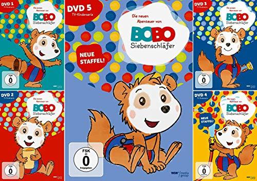 Bobo Siebenschläfer 1 + 2 + 3 + 4 + 5 Edition [5-DVD]
