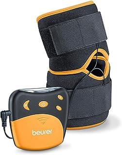 comprar comparacion Beurer EM29 Electroestimulador para Rodilla sy codos 2 en 1, Negro, 4 Programa sEntrenamiento, Cinta Flexible y Ajustable