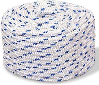 Polypropylène Diamant Tresse Multi Usage Corde Jaune environ 30.48 m Forte 6 mm x 30 m 100 ft