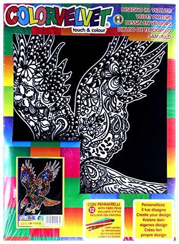 Colorvelvet L111 - Disegno Aquila, 47 x 35 cm