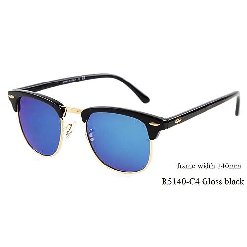 099097a27d0f Flowertree Rs5141 Browline 47mm Sunglasses (M-black+blue)