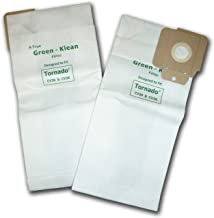 Green Klean® K60904294, 7190461 Tornado CV30/CV38 12/15 Micro-Plus NSS Pacer 112 and 115 Replacement Vacuum Cleaner Bags