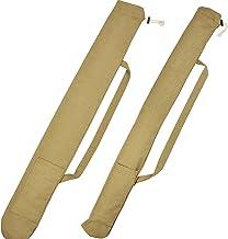 Vissen paraplu opbergtas canvas hengel tas vistuig dikke slijtvaste opvouwbare waterdichte hengel tas X91 G
