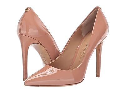 Salvatore Ferragamo Alba X5 Pointed Pump (New Blush Patent) High Heels