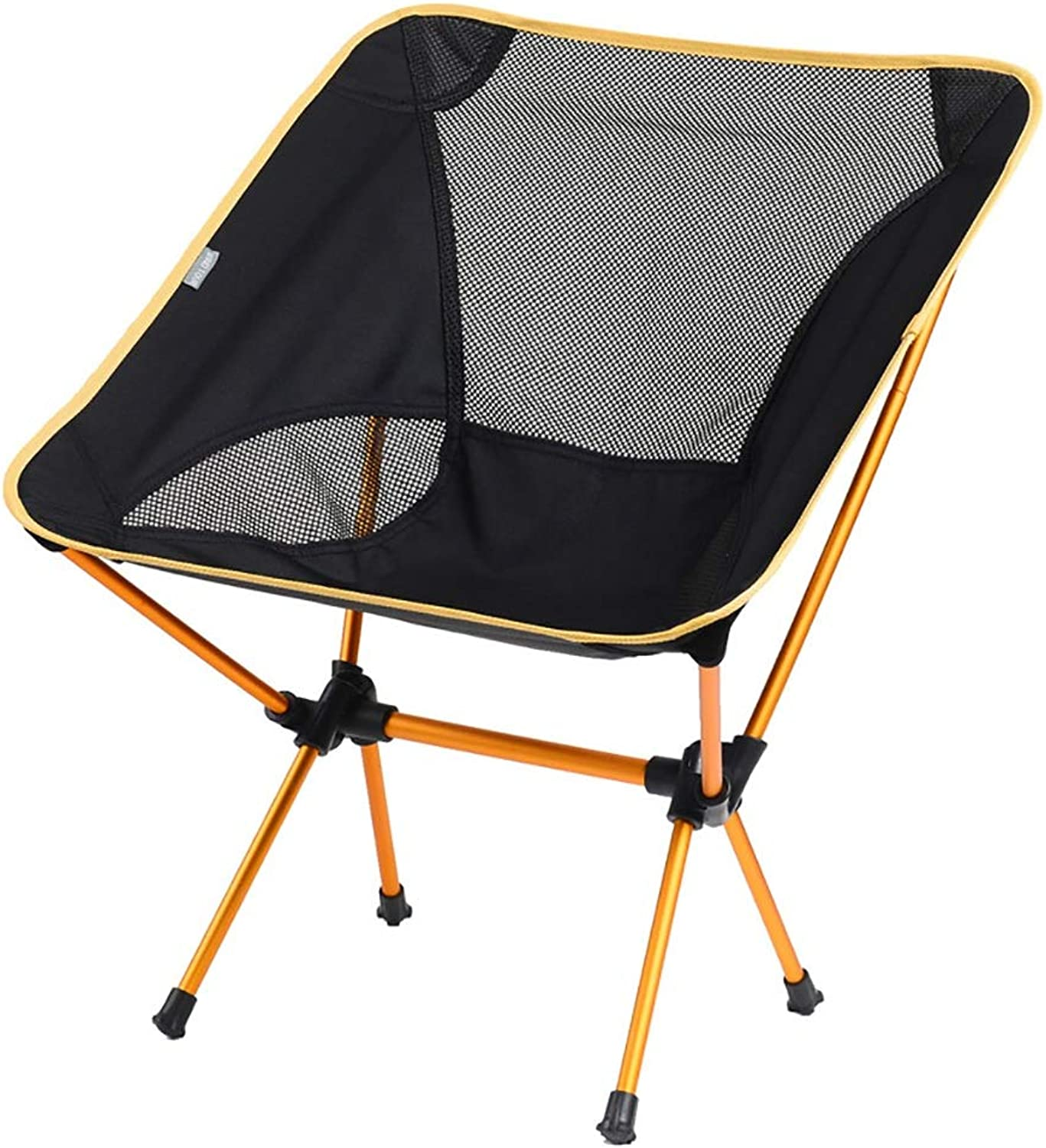 Small Folding Camping Backrest Chair Stool Ultralight PortableOutdoor Folding Chair Sketch Camp Chair Bench for Fishing Hiking Mountaineering Mini Step Slacker Stool + Carry Bag (Load-Bearing 100