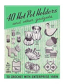 Vintage 40s Crocheted Pot Holders