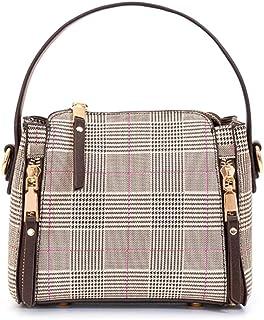 Housking Überprüfen Umhängetasche Damen Klein-Crossbody Tasche Bag Verstellbar Abnehmbar Schultergurt-Kleine Handtasche